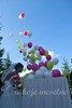 atrakcje weselne - balonowy prezent