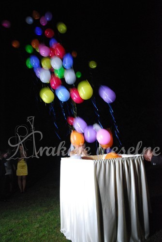 prezent balonowy