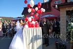 atrakcje weselne - balonowy preznet
