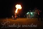 teatr ognia - pokaz fire show - wesele - atrakcje weselne