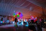 świecące balony z helem